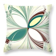 Light In The Darkness White Throw Pillow