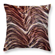 Light Micrograph Of Smooth Muscle Tissue Throw Pillow