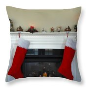 Light Of Christmas Throw Pillow