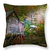 Light On The Mill Throw Pillow