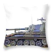 Light Weight Battle Tank Throw Pillow
