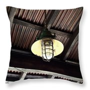 Light With Wireguard Throw Pillow