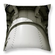 Lighthouse At Canal Park Duluth Mn Throw Pillow