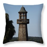 Lighthouse At Lake Chautauqua Throw Pillow