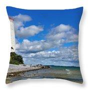 Lighthouse Dream Throw Pillow