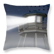 Lighthouse Dreaming Throw Pillow