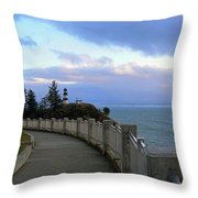 Lighthouse In View Throw Pillow