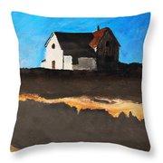 Lighthouse Throw Pillow by Michael Ringwalt