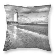 Lighthouse Reflected Throw Pillow
