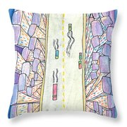 Lights Of The Night 2 Throw Pillow