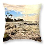 Lihue Splash Throw Pillow
