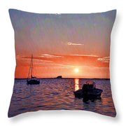 Like A Painted Sky Throw Pillow