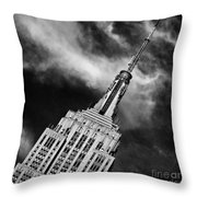 Like A Rocket Ship Heading To The Moon Throw Pillow