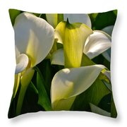 Lilies Of The Nile Throw Pillow