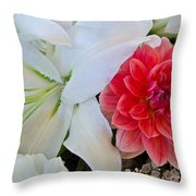 Lilly And Friend Throw Pillow