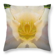 Lily Clouds Throw Pillow