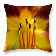 Lily Heart II Throw Pillow