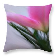 Lily In Motion Throw Pillow