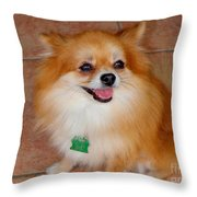 Lily - No 1 Throw Pillow