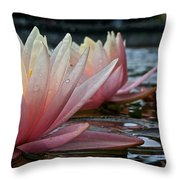Lily Sisters Throw Pillow