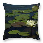 Lilypad Throw Pillow