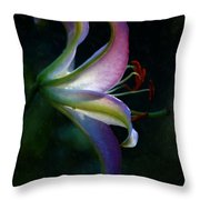 Lily's Inner Glow Throw Pillow