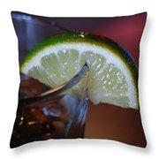 Lime Time Throw Pillow