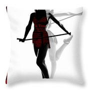 Limelight Throw Pillow by Naxart Studio