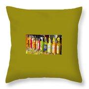 Limoncello From Capri Throw Pillow