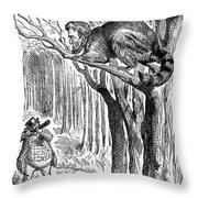 Lincoln Cartoon, 1862 Throw Pillow by Granger