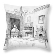 Lincoln: White House Office Throw Pillow