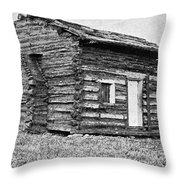 Lincolns Birthplace Throw Pillow