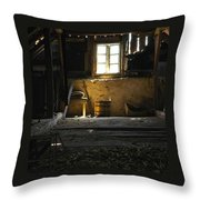 Linden Flowers Left To Dry In The Attic Throw Pillow