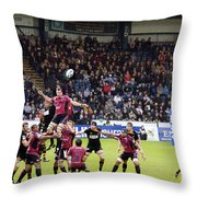 Line-in Throw Pillow by Jane Rix