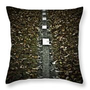 Line Of Death Throw Pillow