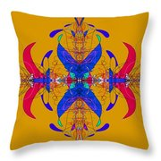 Linear Movement Number 3 Throw Pillow