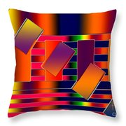 Lines Two Throw Pillow
