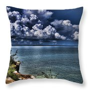 Lingering Clouds Throw Pillow