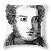 Lionel Nathan De Rothschild Throw Pillow