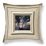 Lionessfish Throw Pillow