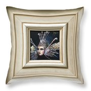 Lionessfish Throw Pillow
