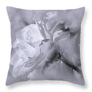 Liquid Rose Throw Pillow