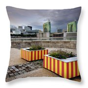 Lisbon Expo Throw Pillow