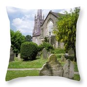Lismore, Co Waterford, Ireland Throw Pillow