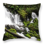 Listen To The Water Throw Pillow