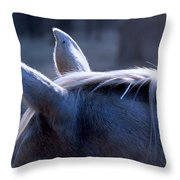 Listening Ears Throw Pillow