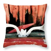 Little Antlers 3 Throw Pillow