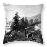 Little Falls: Railroad Throw Pillow