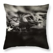 Little Feather Lost Throw Pillow