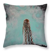 Little Galaxie Three Throw Pillow